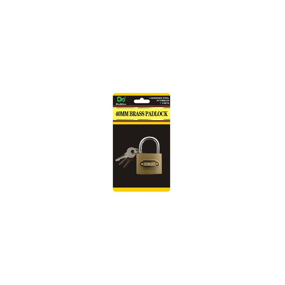 40MM Brass Padlock
