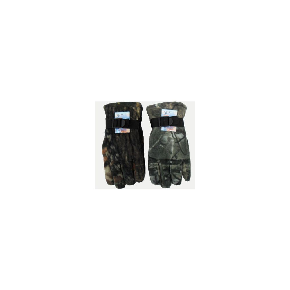 Camoflage Heavy Fleece Gloves