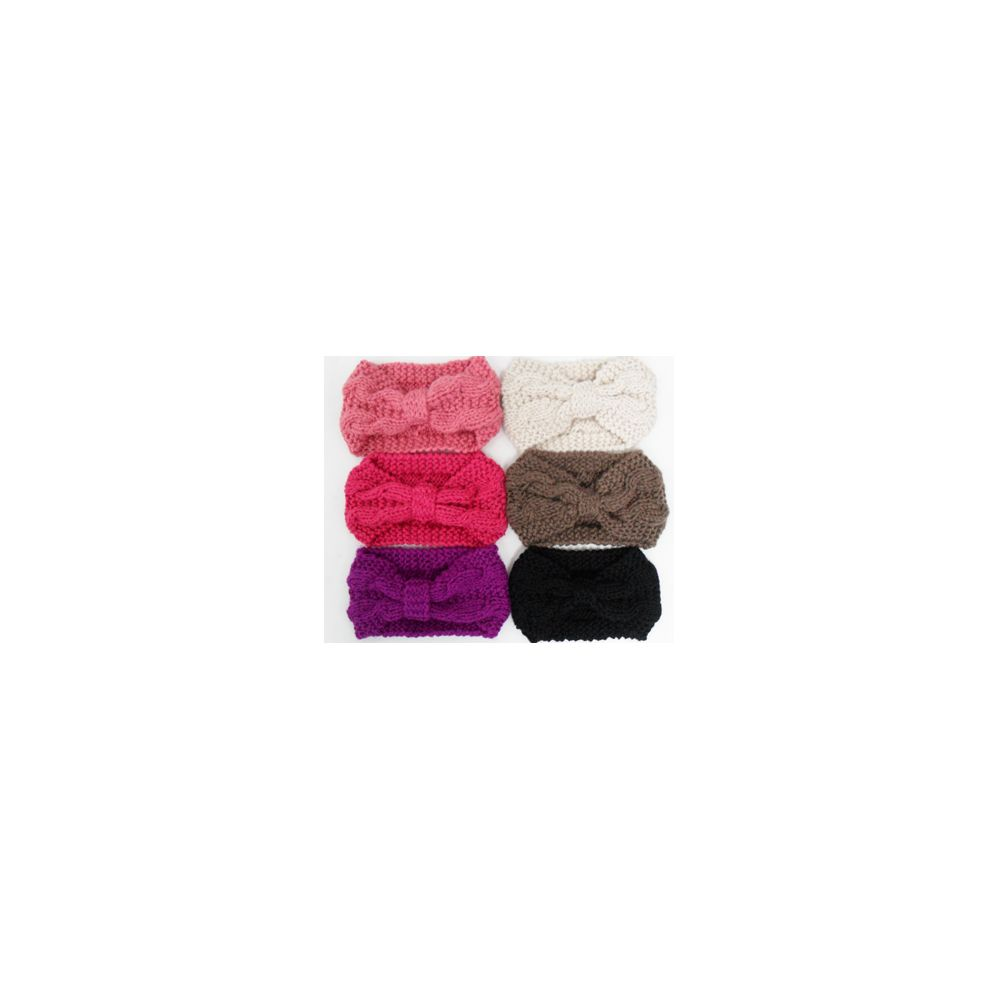 Knit Head Band Assorted Colors