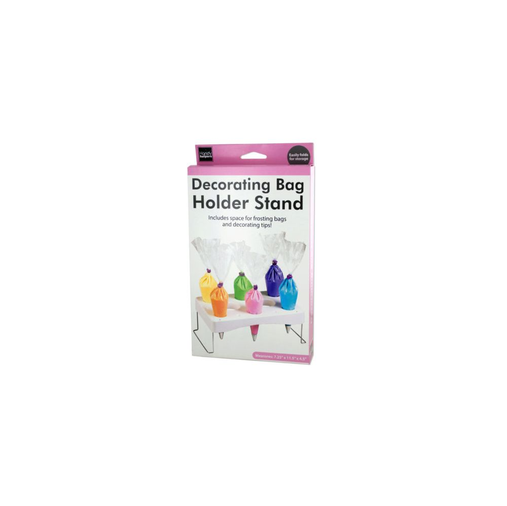 Cake Decorating Bag Holder Stand