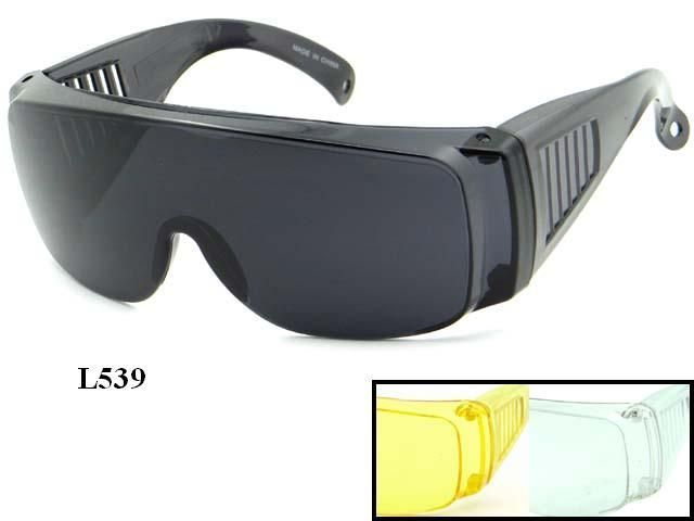 Large Plastic Fit Over Sun Glasses Assorted