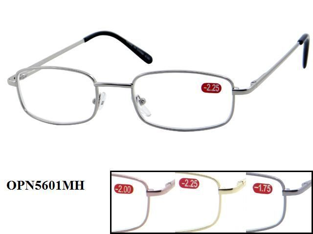 Assorted Metal Reading Glasses