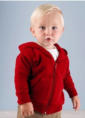 Infant Zipper Hoodie for 12 months