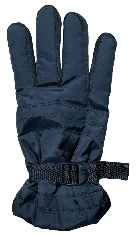 Yacht & Smith Men's Winter Warm Gloves, Fleece Lined With Black Gripper