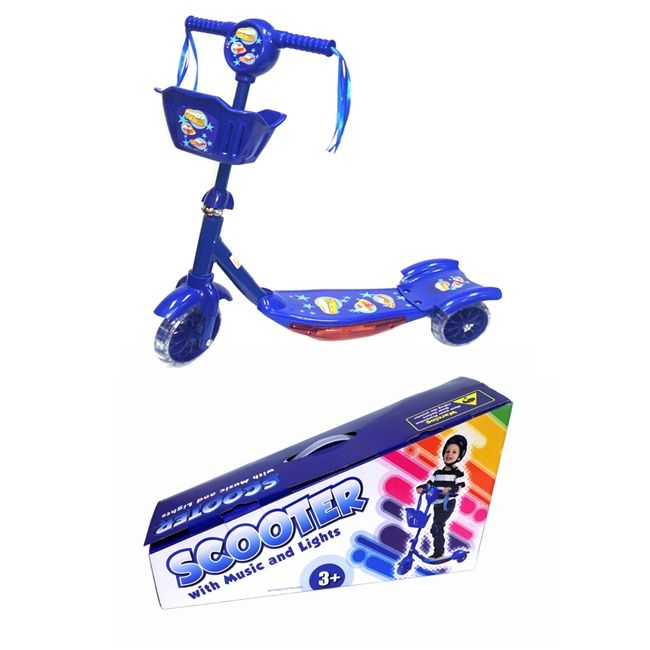 Toy Bike Scooter Blue