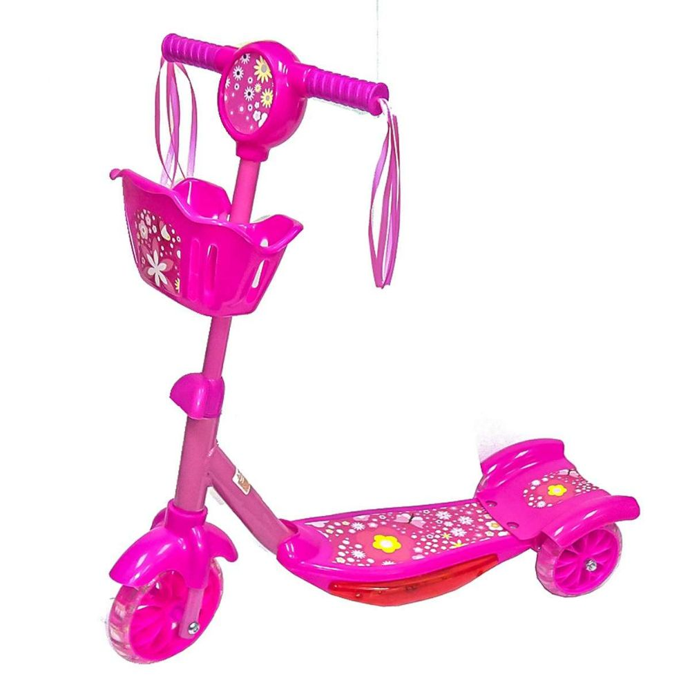 Toy Bike Scooter Pink