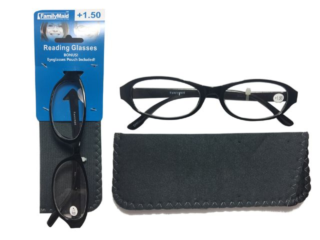 Reading Glasses With Case