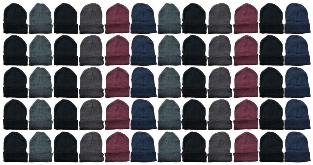 Yacht & Smith Mens Womens Warm Winter Hats in Assorted Colors, Mens Womens Unisex