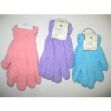Ladies Fuzzy Gloves