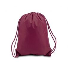 Drawstring Backpack - Maroon