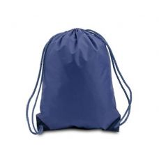 Drawstring Backpack - Navy