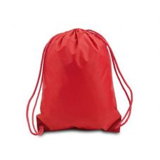 Drawstring Backpack - Red