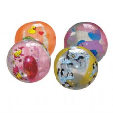 Inflatable Ball Animal Prints 9Inch