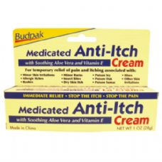 Med 1oz Medicated Anti-Itch Cream