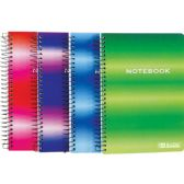 """BAZIC 120 Ct. 5"""" X 7"""" Personal / Assignment Spiral Notebook"""