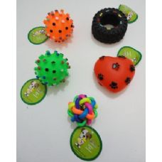 Assorted Pet Toys-Rattles & Squeakers