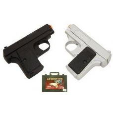 Airsoft Spring Pitols In Plastic Carrying Case