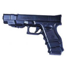 Airsoft Pistol With Extendable Barrel & Double Clip