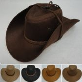Rope Hat Band Suede-Like Cowboy Hat
