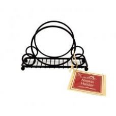 Deco Black Napkin Holder