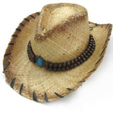 COW BOY STRAW HATS
