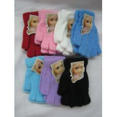 Super Fuzzy Fingerless Gloves