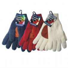 WINTER Chenille Glove w/ Leather Palm HD