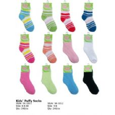 Kids Fuzzy Sock Size 4-6