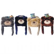 Kids Animal Bear Hat Assorted Colors