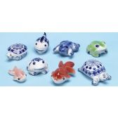 Porcelain Sea Animals Great For Fish Tank