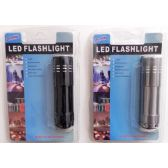 LED Flashlight 9 LED Pocket Size