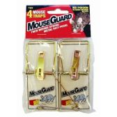 Wooden Mouse Traps 4 Pack