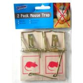 Two Pack Wooden Mouse Trap