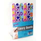 Cushioned Emery Boards On Counter Display