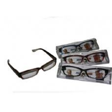 Two Tone Plastic Reading Glass With Case