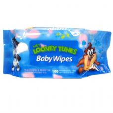 Baby Wipes 100CT Baby Looney Tunes Blue