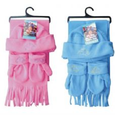 Kids Winter 3PK Set Hat, Scarf, Mitten