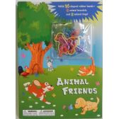 Animal Friends Coloring Book with Bracelets