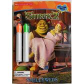 Shrek2 Smellyweds Coloring and Activity Book with 2 Markers