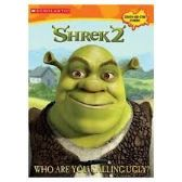Shrek2 Who Are You Calling Ugly Sticker and Coloring Book