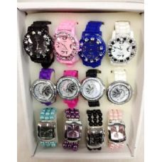 Lot Watches Silicone Fashion Watches
