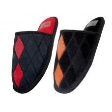 Women's Leather Patch Slippers