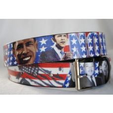 American flag Obama Belts