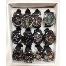 Men/Boy Silicone Watch Assorted Styles Adjustable sizes