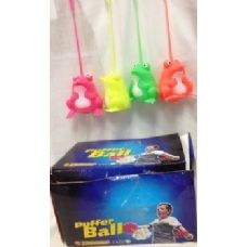 24 pcs Light Up Spike Ball assorted color great for kid