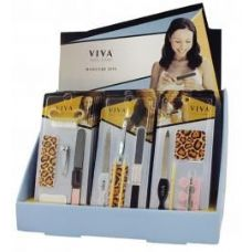 Viva Nail Care Manicure Set In Display