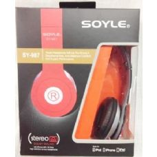 Soyle SY987 Headphones Assorted Colors