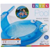 "82""x62"" WHALE SPRAY POOL, AGE 2+, IN COLOR BOX"