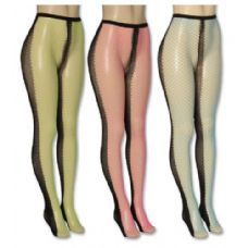 Ladies Assorted Color Tights