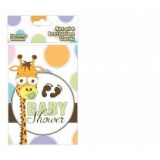 Baby Shower Invitation 8 Ct.